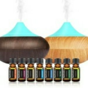 Spa Mist Aromatherapy Diffuser &Essential Oul kit